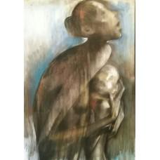 Dinu RADULESCU (1947) - Maternitate