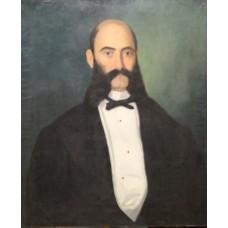 Scoala romaneasca (Autor necunoscut) - Portret de barbat (secol XIX)