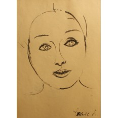 Lia SZASZ (1928-2006) - Portret