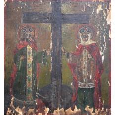 Icoana pe lemn (Scoala romaneasca) - Sec XIX
